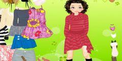 2 Kişilik Okul Giysi Giydirme oyunu Resim fotoğraf
