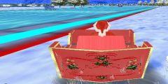 3D Noel Baba Yarış oyunu Resim fotoğraf