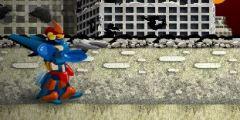 3D Robot Düellosu oyunu Resim fotoğraf
