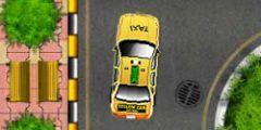 3D Taksi Park Etme oyunu Resim fotoğraf