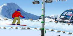3D Uludağ Kayak oyunu Resim fotoğraf