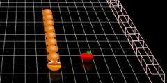 3D Yılan oyunu Resim fotoğraf