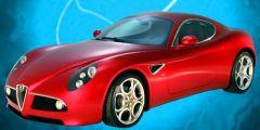 Alfa Romeo 8C Modifiye Tuning oyunu Resim fotoğraf