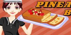 Ananaslı Kek Hazırlama oyunu Resim fotoğraf