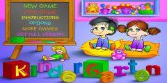 Anaokulu Eğitici oyunu Resim fotoğraf