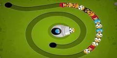 Angry Birds Zuma oyunu Resim fotoğraf