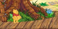 Ayı Winnie Bal Yeme oyunu Resim fotoğraf