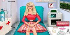 Barbie Ambulansta Ameliyat oyunu Resim fotoğraf