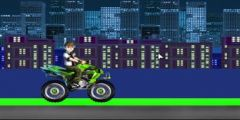 Ben 10 Atv Motoru Sürme oyunu Resim fotoğraf