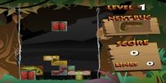 Böcekli Tetris oyunu Resim fotoğraf