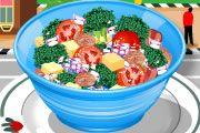 Brokoli Salatası Hazırlama oyunu Resim fotoğraf