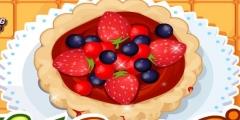 Çilekli Pasta Hazırla oyunu Resim fotoğraf