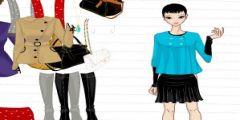 Çok Dekolteli Elbise Giydirme oyunu Resim fotoğraf