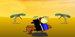 Çölde Safari Yarışı oyunu Resim fotoğraf