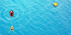 Denizde Hazine Bulma Resmi Resim