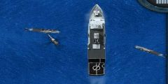 Denizde Helikopter Savaşı oyunu Resim fotoğraf