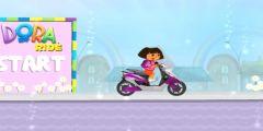Dora Motor Sürme oyunu Resim fotoğraf