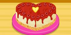 Frambuazlı Cheesecake oyunu Resim fotoğraf