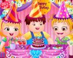 Hazel Bebek Doğum Günü Partisinde oyunu Resim fotoğraf