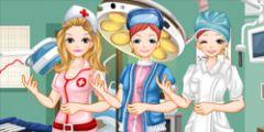 Hemşire Makyaj ve Giydirme oyunu Resim fotoğraf