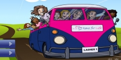 Kız Okul Servisi Sürme oyunu Resim fotoğraf