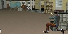 Kovboy Prensesi Kurtarma oyunu Resim fotoğraf