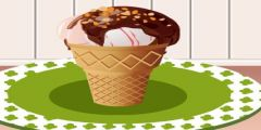 Külahta Dondurma Hazırlama oyunu Resim fotoğraf