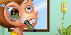 Kulak Temizleme oyunu Resim fotoğraf