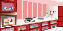 Lüks Mutfakta Yemek Yapma oyunu Resim fotoğraf