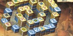 Mahjong Domino Kalesi oyunu Resim fotoğraf