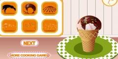 Maraş Dondurması Hazırlama oyunu Resim fotoğraf