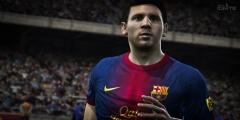 Messi ile Top Koştur Resmi Resim