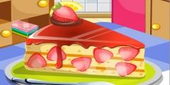 Meyveli Pasta oyunu Resim fotoğraf