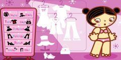 Minik Barbie Giydirme oyunu Resim fotoğraf