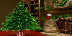 Noel Ağacı Süsleme oyunu Resim fotoğraf