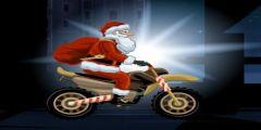 Noel Baba Motor Resmi Resim Fotoğrafı