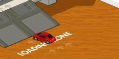 Ofiste Oyuncak Araba Sürme oyunu Resim fotoğraf