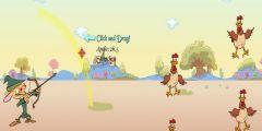 Ok ile Tavuk Vurma oyunu Resim fotoğraf