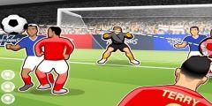 Orta Kafa Gol oyunu Resim fotoğraf