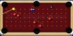 Pacman Bilardo oyunu Resim fotoğraf