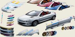 Peugeot 206 Modifiye Etme oyunu Resim fotoğraf