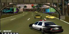 Polis Arabası Kovalamaca oyunu Resim fotoğraf