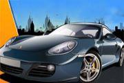 Porsche Araba Yarışı oyunu Resim fotoğraf