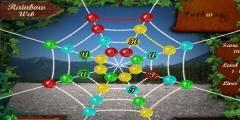 Renkli Örümcek Ağı oyunu Resim fotoğraf