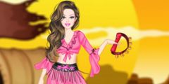 Roman Kızı Giydirme oyunu Resim fotoğraf