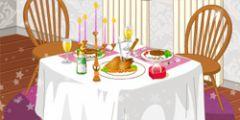 Romantik Akşam Yemeği oyunu Resim fotoğraf