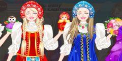 Rus Kızı Giydirme oyunu Resim fotoğraf