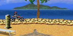 Sahilde Motor Yarışı oyunu Resim fotoğraf