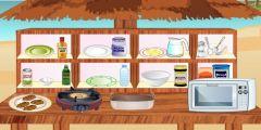 Tavuk Sote Pişirme oyunu Resim fotoğraf
