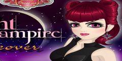 Vampir Kız Makyaj oyunu Resim fotoğraf